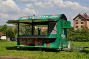 Festausstattung - Ausschankwagen
